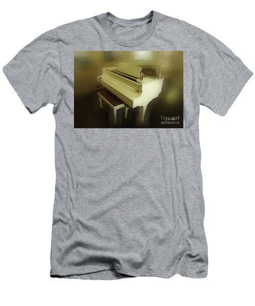 Piano Dream Men's T-Shirt (Athletic Fit)