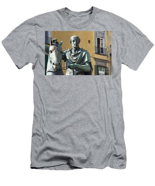 Piazza Del Plebiscito Men's T-Shirt (Athletic Fit)