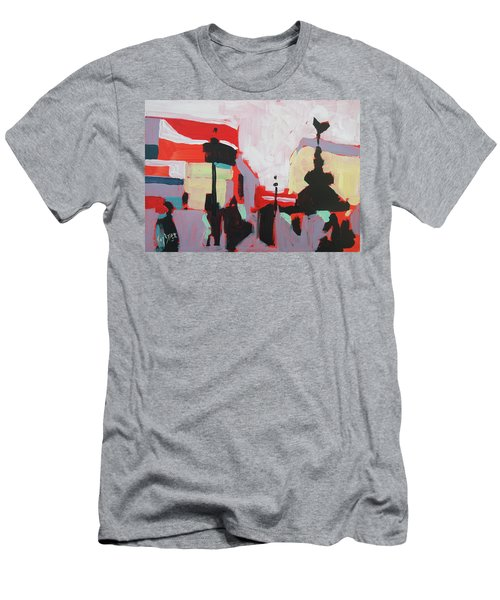 Piccadilly Circus Men's T-Shirt (Slim Fit) by Nop Briex