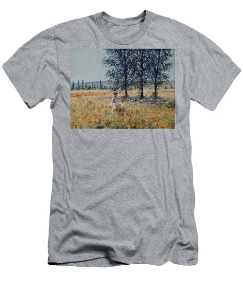 Picking Flowers  Men's T-Shirt (Athletic Fit)