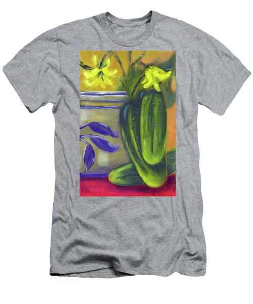 Pickling Cucumbers  Men's T-Shirt (Athletic Fit)