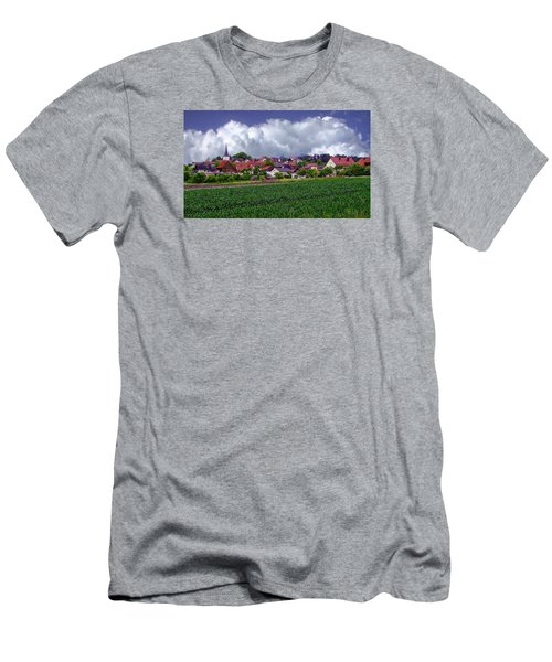 Picturesque German Village Men's T-Shirt (Athletic Fit)