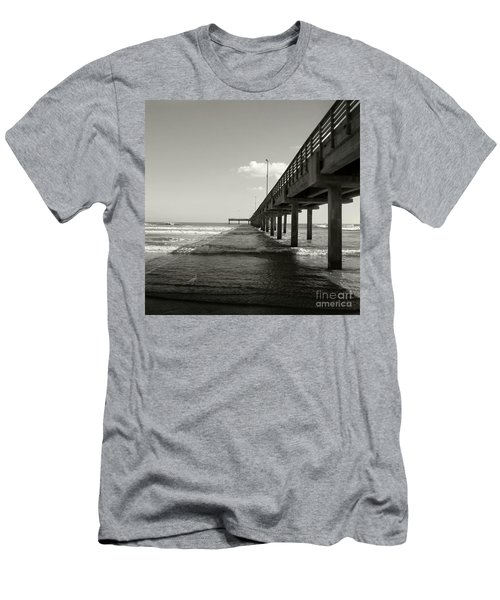 Pier 1 Men's T-Shirt (Slim Fit) by Sebastian Mathews Szewczyk