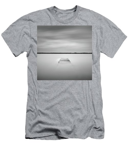 Pier Sinking Into The Water Men's T-Shirt (Athletic Fit)
