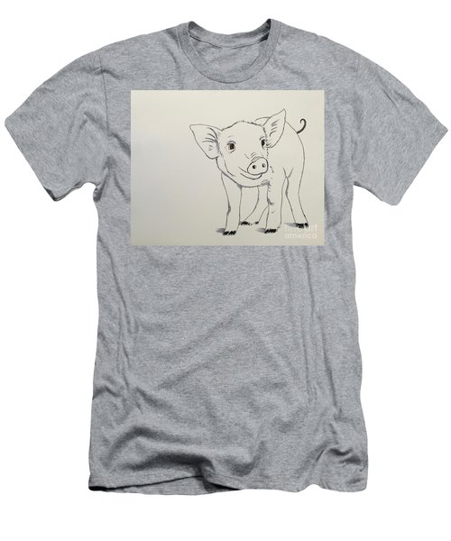 Piglet Men's T-Shirt (Athletic Fit)