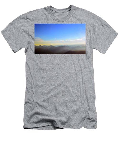 Pilchuck Sunrise Men's T-Shirt (Athletic Fit)