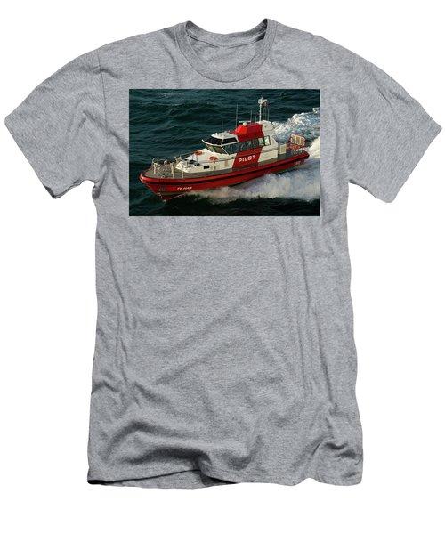 Pilot Boat Wellington Men's T-Shirt (Athletic Fit)