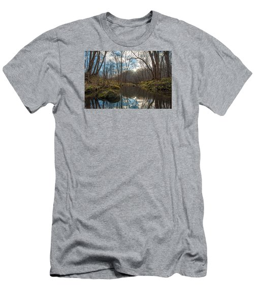 Men's T-Shirt (Slim Fit) featuring the photograph Pine Creek by Dan Traun
