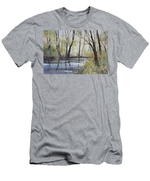 Pine River Reflections Men's T-Shirt (Athletic Fit)