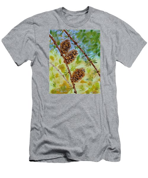 Pinecones  Men's T-Shirt (Athletic Fit)