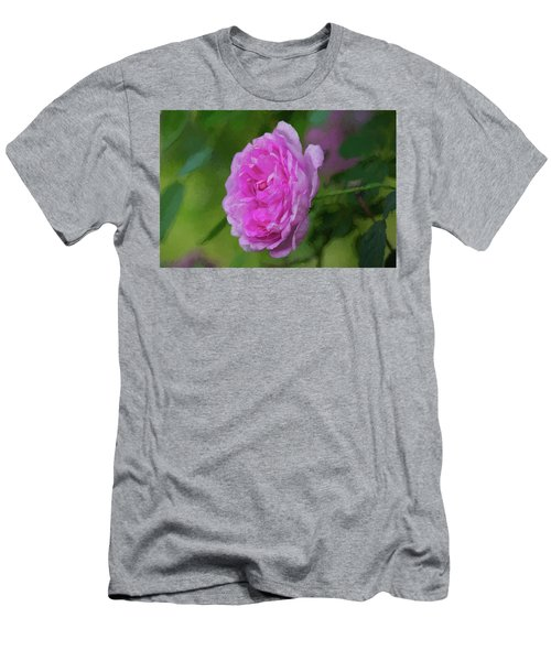 Pink Beauty In Bloom Men's T-Shirt (Athletic Fit)