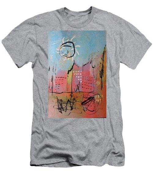 Pink City Men's T-Shirt (Athletic Fit)
