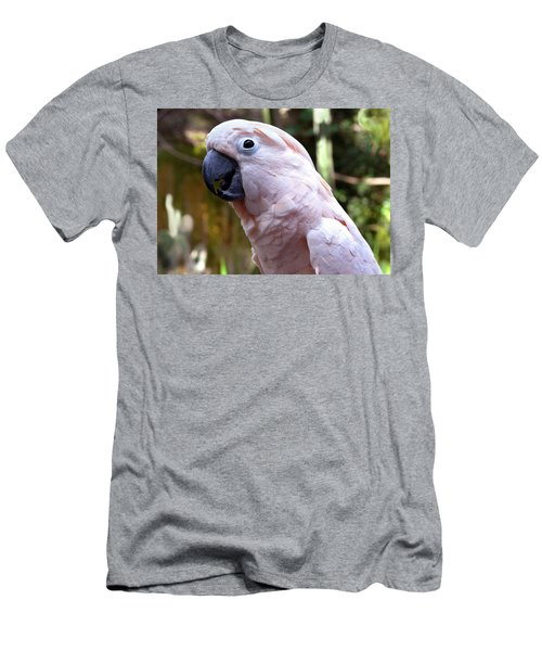Pink Cockatoo Men's T-Shirt (Athletic Fit)