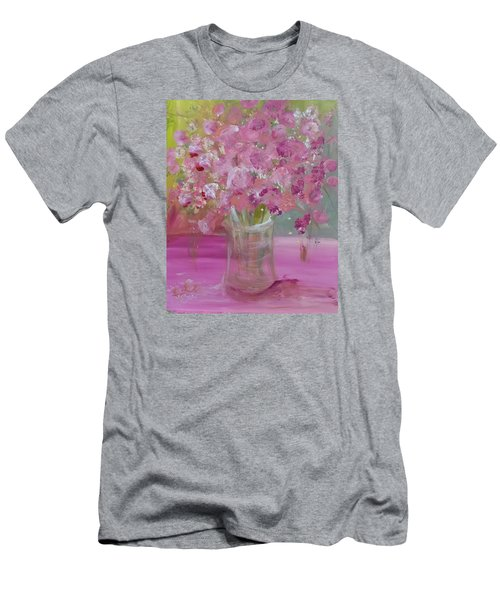 Pink Explosion Men's T-Shirt (Athletic Fit)