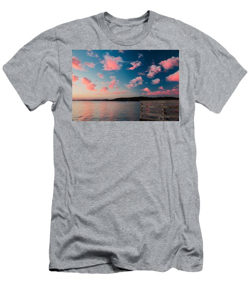 Pink Fluff In The Air Men's T-Shirt (Athletic Fit)