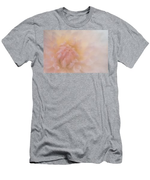 Pink Heart Men's T-Shirt (Athletic Fit)