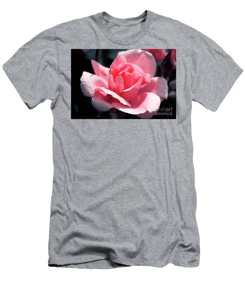 Pink In Light And Shadow Men's T-Shirt (Slim Fit) by Rebecca Davis