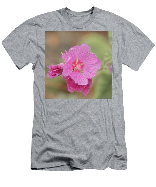 Pink In The Wild Men's T-Shirt (Athletic Fit)