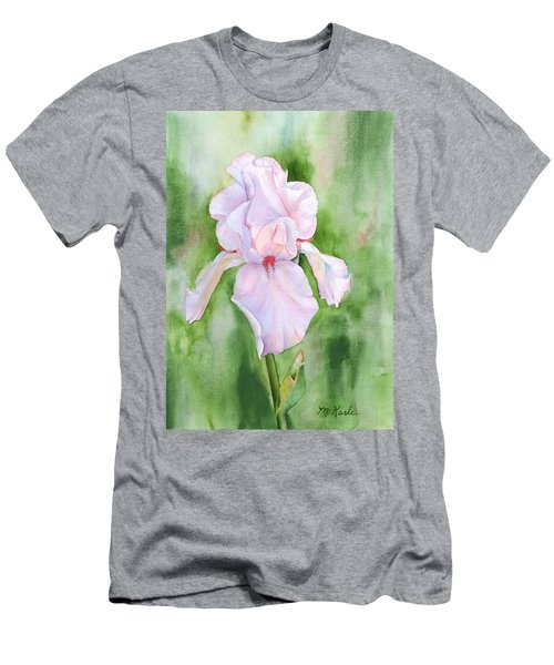 Pink Iris Men's T-Shirt (Athletic Fit)