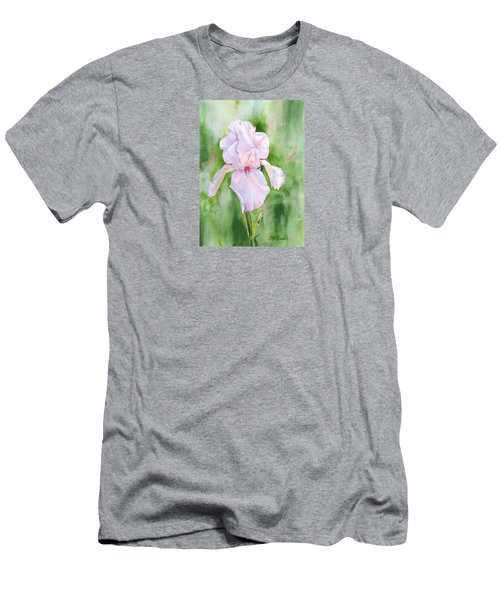 Pink Iris Men's T-Shirt (Athletic Fit)