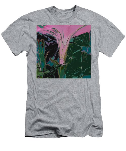 Pink Men's T-Shirt (Athletic Fit)