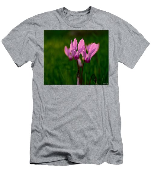 Pink Light Men's T-Shirt (Athletic Fit)