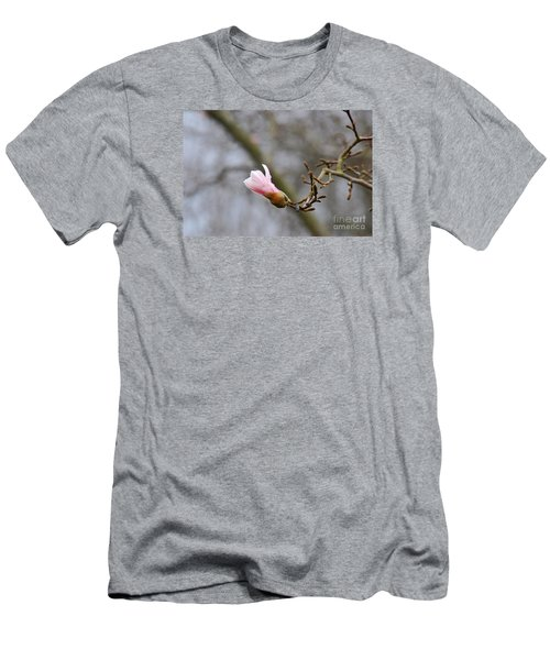 Pink Magnolias 20120321_54a Men's T-Shirt (Slim Fit) by Tina Hopkins