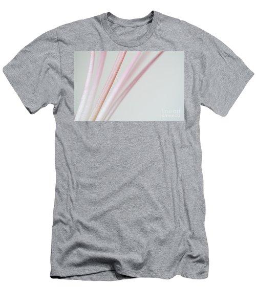 Pink Minimallism Men's T-Shirt (Athletic Fit)