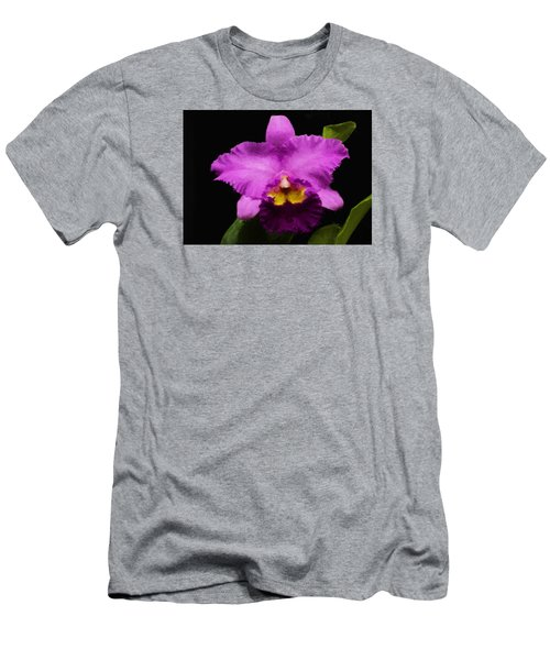 Pink Orchid Men's T-Shirt (Athletic Fit)