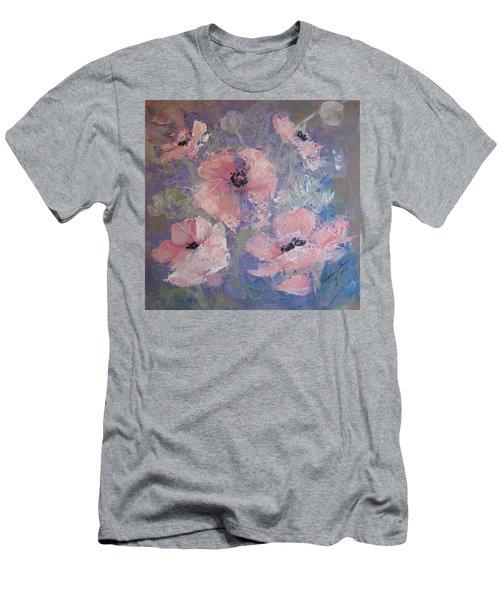 Pink Poppy Men's T-Shirt (Athletic Fit)