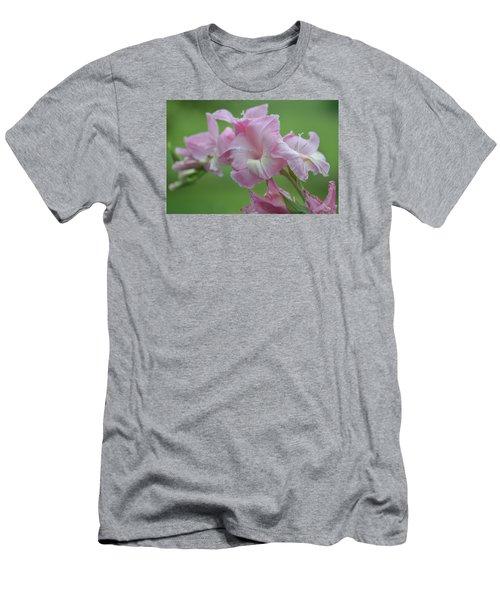 Pink Men's T-Shirt (Slim Fit) by Teresa Tilley