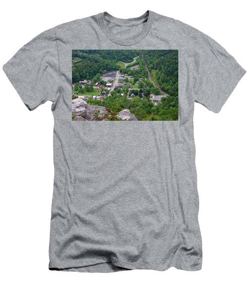 Pinnacle Overlook In Kentucky Men's T-Shirt (Athletic Fit)