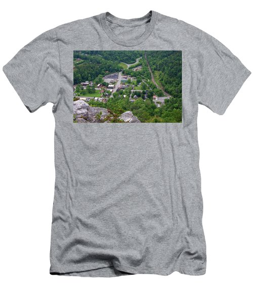Pinnacle Overlook In Kentucky Men's T-Shirt (Athletic Fit)