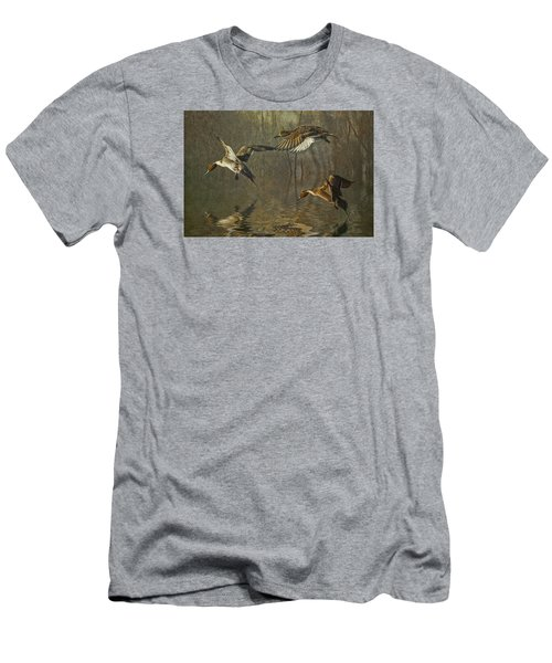 Pintail Ducks Men's T-Shirt (Slim Fit) by Brian Tarr
