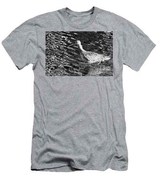 Piper Profile, Black And White Men's T-Shirt (Athletic Fit)