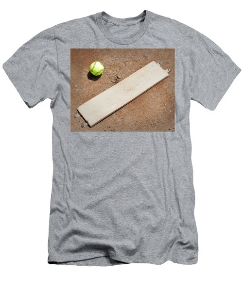 Pitchers Mound Men's T-Shirt (Athletic Fit)