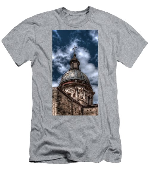 Place Of Worship Men's T-Shirt (Slim Fit) by Patrick Boening