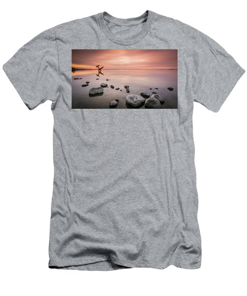 Plane And Colors Men's T-Shirt (Athletic Fit)