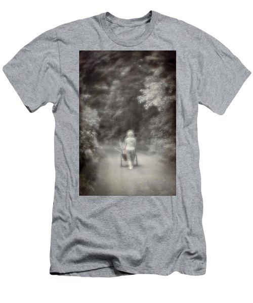 Planting-sepia Men's T-Shirt (Athletic Fit)
