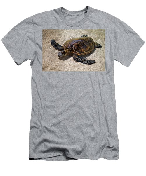 Playful Honu Men's T-Shirt (Athletic Fit)