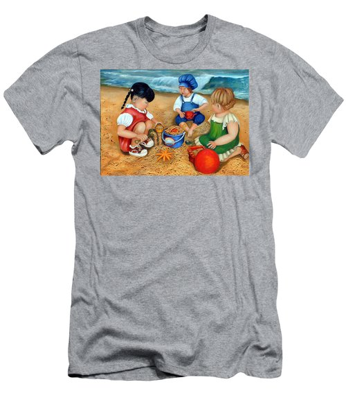 Playtime At The Beach Men's T-Shirt (Athletic Fit)