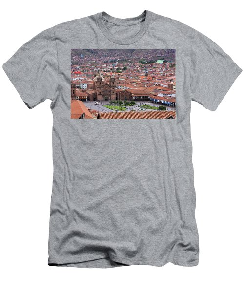 Plaza De Armas, Cusco, Peru Men's T-Shirt (Slim Fit) by Aidan Moran