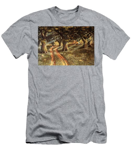 Pleasant Escape Men's T-Shirt (Athletic Fit)