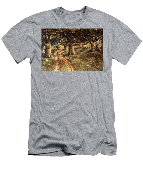 Pleasant Escape Men's T-Shirt (Athletic Fit)