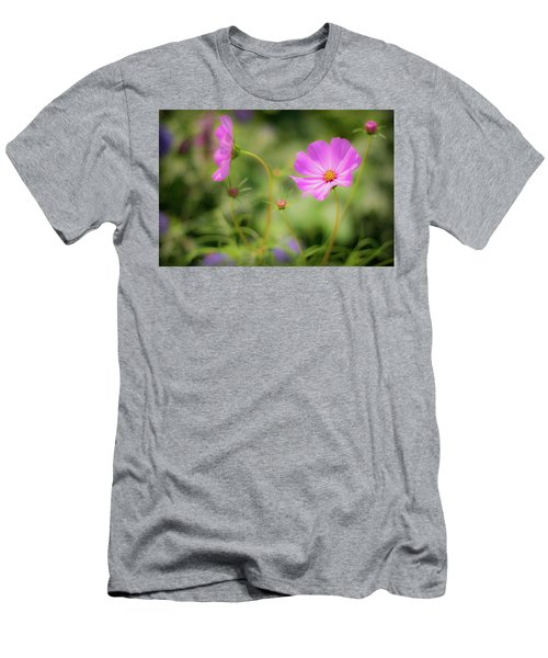 Pleasant Summer Wild Flowers Men's T-Shirt (Athletic Fit)