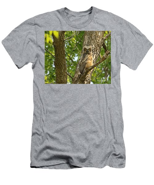 Men's T-Shirt (Slim Fit) featuring the photograph Pleasantly Surprised  by Heather King
