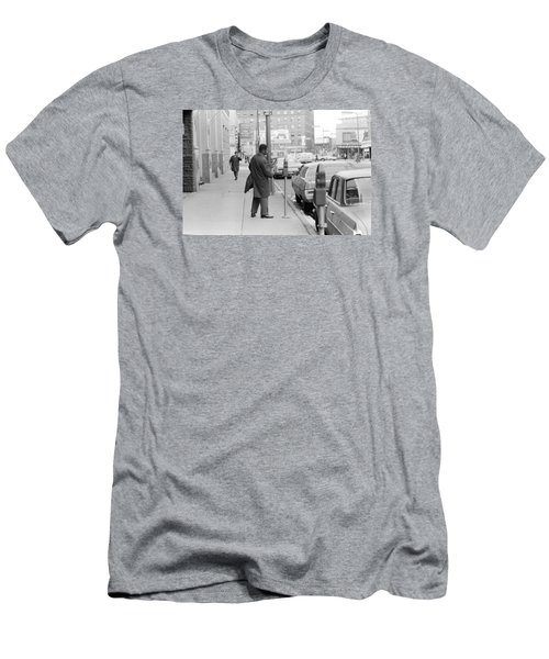 Plugging The Meter Men's T-Shirt (Athletic Fit)