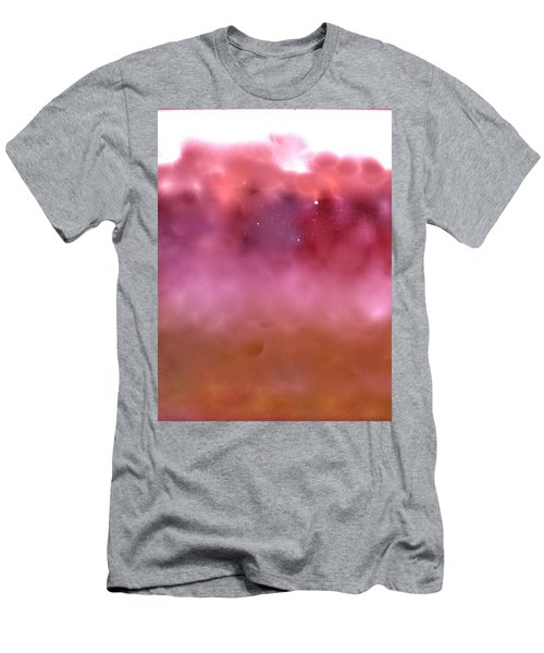 Men's T-Shirt (Slim Fit) featuring the digital art Plum Fairies by Patricia Schneider Mitchell