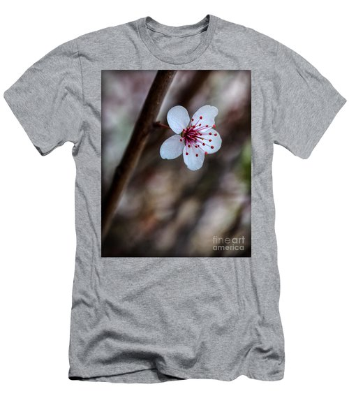 Plum Flower Men's T-Shirt (Athletic Fit)