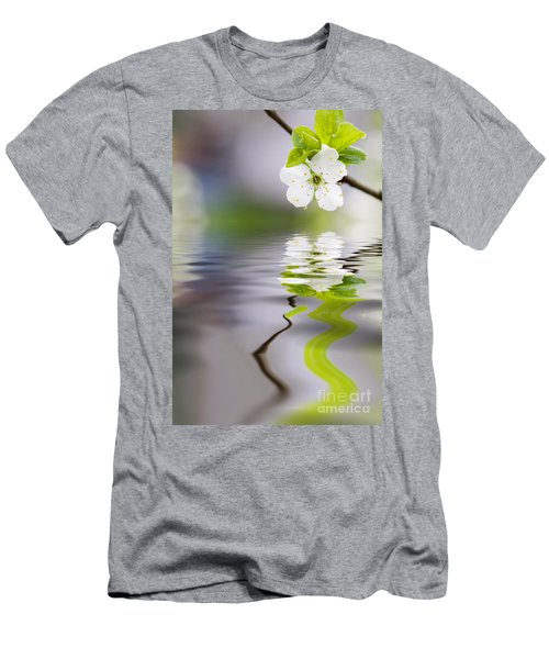 Plum Tree Blooming Men's T-Shirt (Athletic Fit)